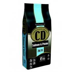 Delikan CD Salmon & Patato 15 kg