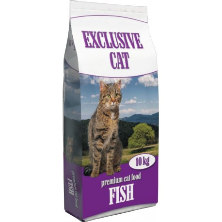 Delikan Exclusive Cat with Cheese 10 kg