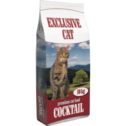 Delikan Exclusive Cat with Fish 10 kg