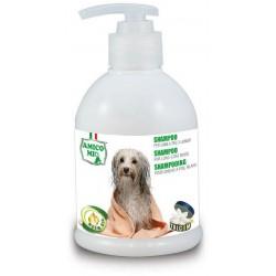Szampon dla psów z długą sierścią z olejkiem z drzewa neem