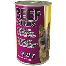 Beef Chunks Konserwa dla psa 1250 g